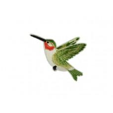 applicatie kolibri groen middelgroot