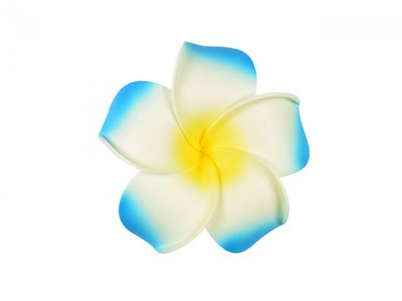 corsage hawaii blauw groot