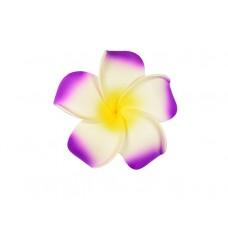 corsage hawaii paars groot