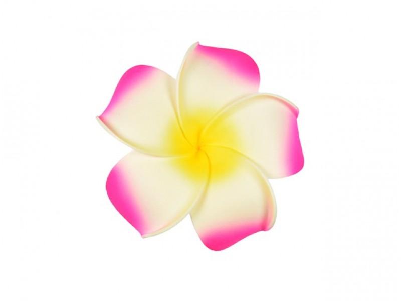 corsage hawaii roze groot