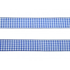 3 meter sierlint bakkersruit blauw 25mm