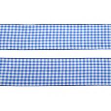 3 meter sierlint bakkersruit blauw 38mm