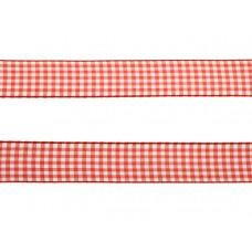 3 meter sierlint bakkersruit rood 25mm