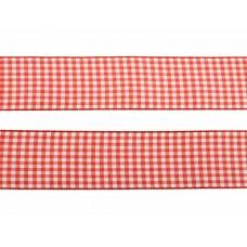 3 meter sierlint bakkersruit rood 38mm