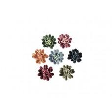 3d bloemen set klein 7 kleuren