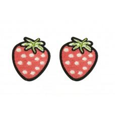 aardbeien patch set 2 stuks