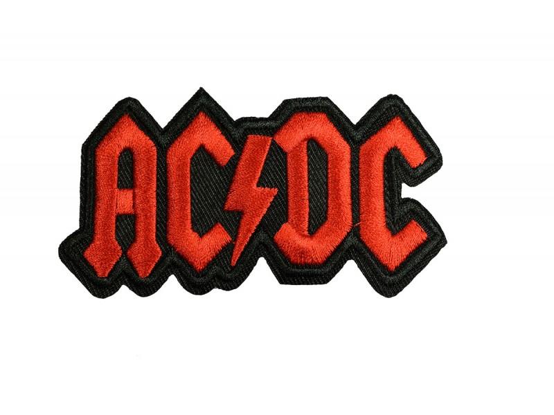 ACDC embleem opstrijkbaar