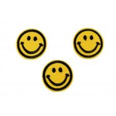 acid smiley patch 3 stuks