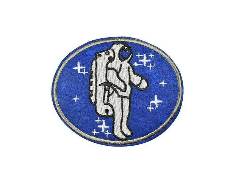 applicatie embleem astronaut