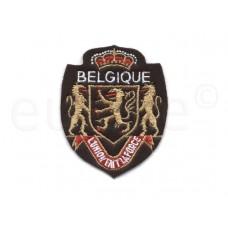 applicatie embleem Belgique