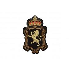 applicatie embleem leeuw en kroon