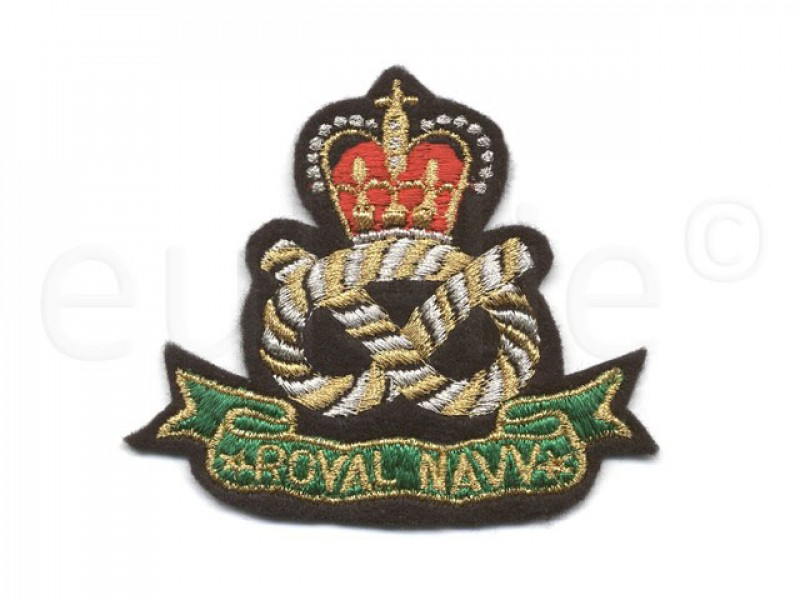 applicatie embleem Royal Navy
