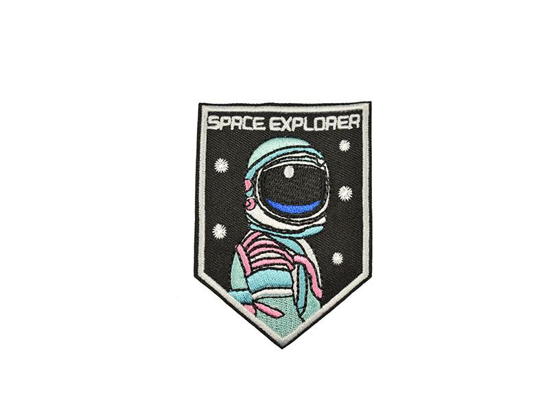 applicatie embleem space explorer