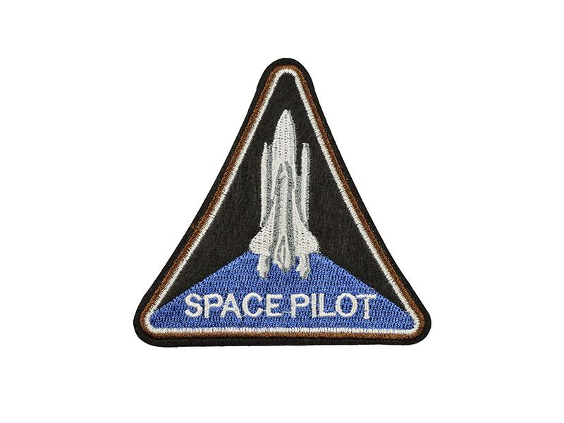 applicatie embleem space pilot