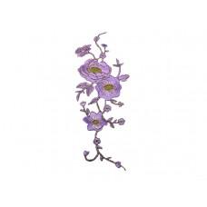applicatie geranium lila goud