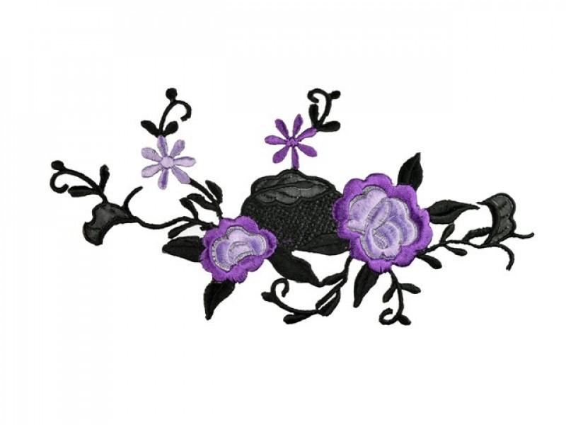 applicatie geranium lila paars