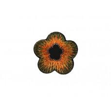 applicatie geranium oranje goud