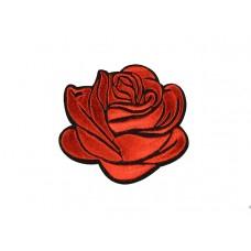 applicatie gestileerde roos rood