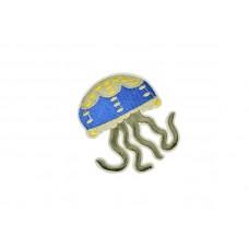 applicatie jellyfish blauw geel