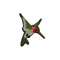 applicatie kolibri mos groen middelgroot