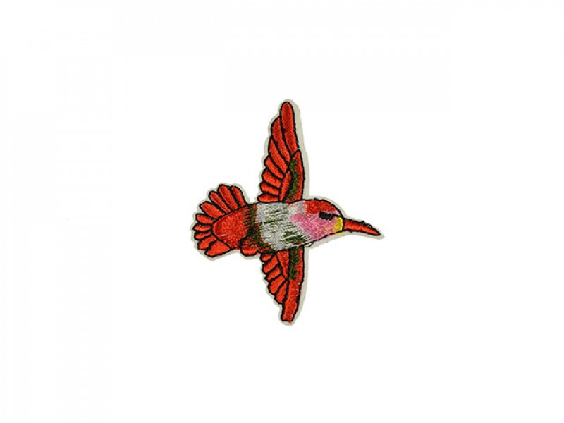applicatie kolibri rood