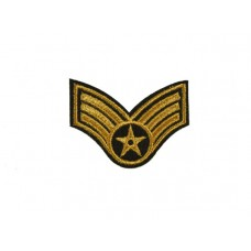 applicatie leger rang gouden ster