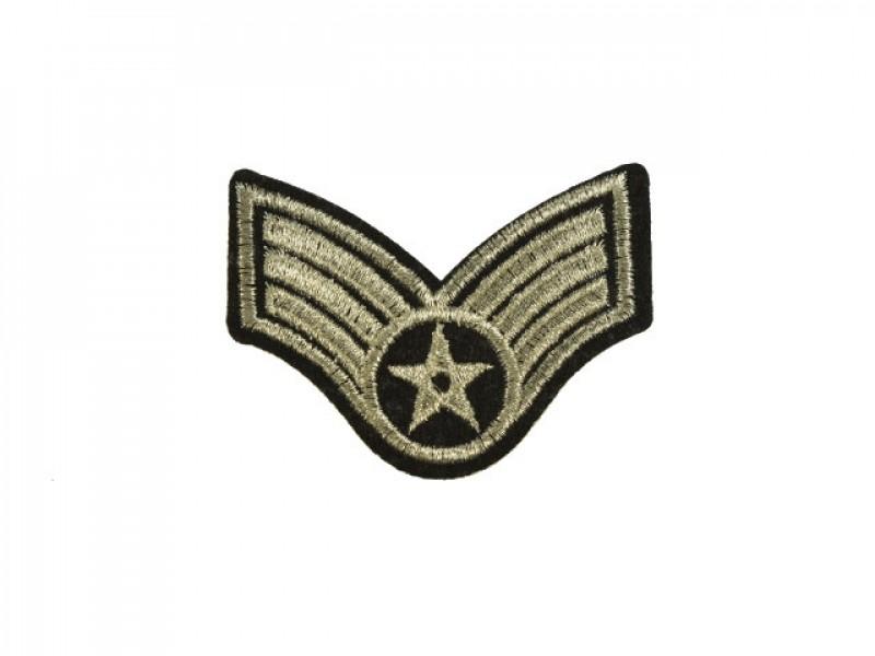 applicatie leger rang ster zilver