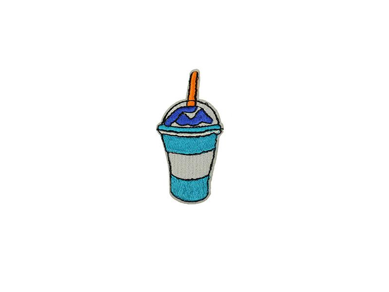 applicatie milkshake blauw wit