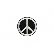 applicatie peace zwart wit