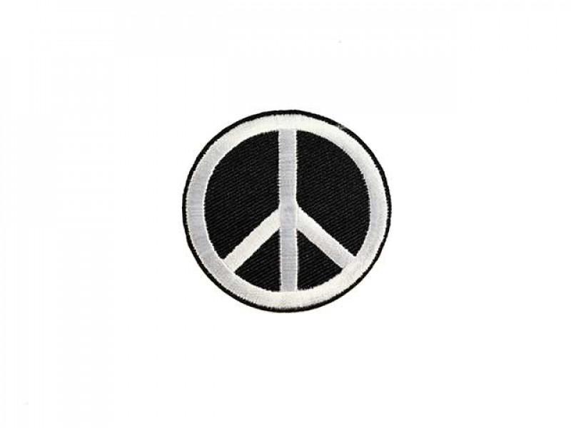 applicatie peace zwart wit