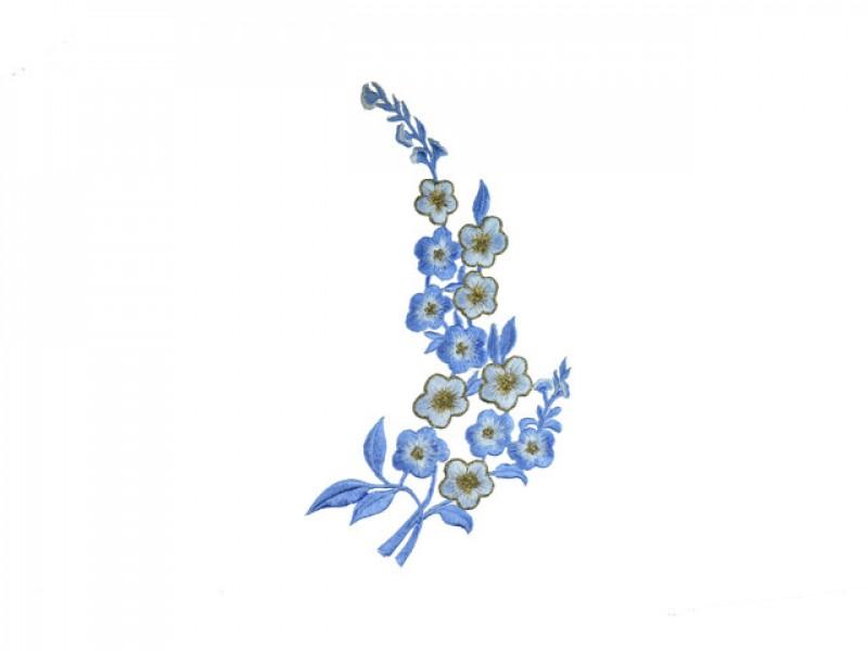 applicatie petunia lichtblauw