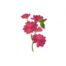applicatie roze anemoon op tak middelgroot