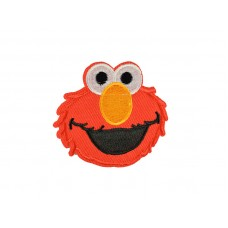 applicatie Sesamstraat Elmo gele neus
