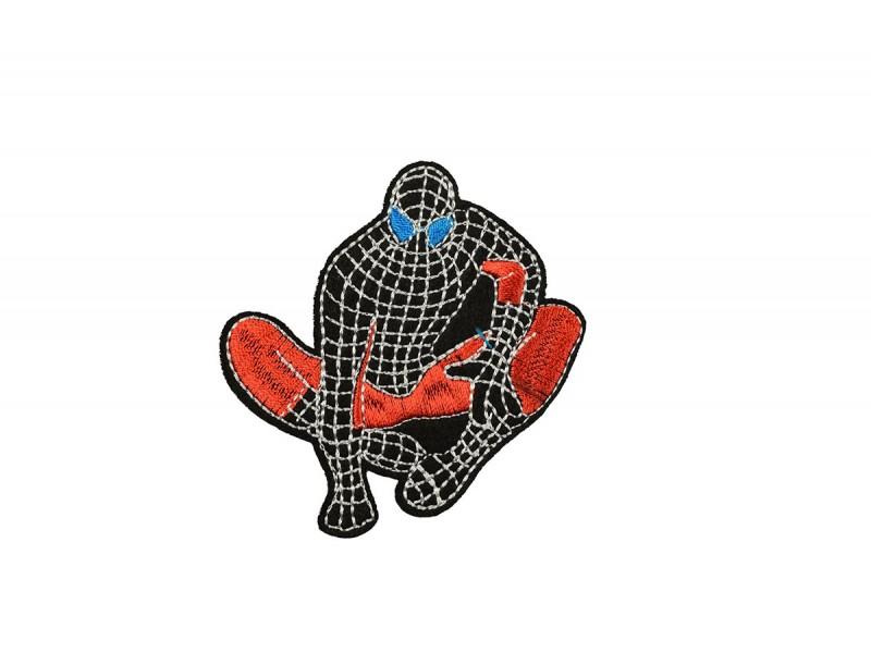 applicatie spiderman zwart