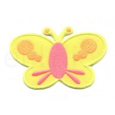 applicatie vlinder fluor kleuren