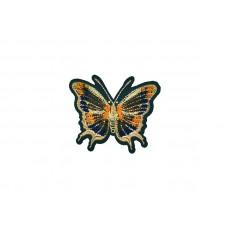 applicatie vlinder fluweel
