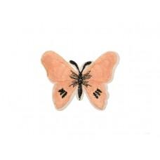 applicatie vlinder poeder roze zwart