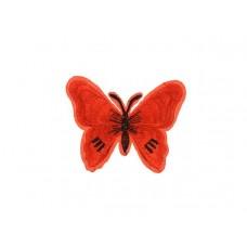 applicatie vlinder rood zwart