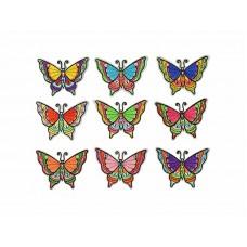 applicatie vlinder set diverse kleuren