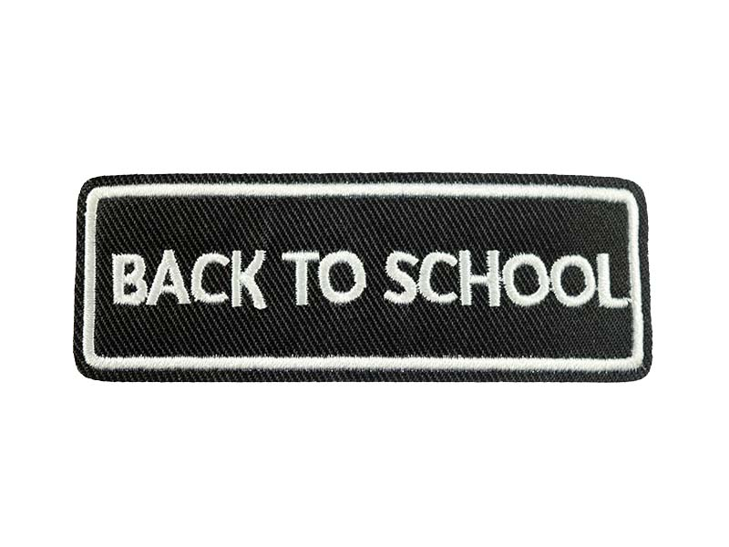 Back To School patch