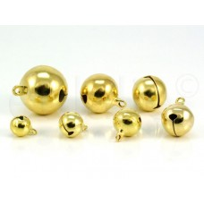 belletjes goud 2.5 cm (5 stuks)