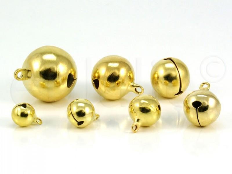 belletjes goud 2 cm (5 stuks)