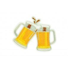 bier glazen patch set