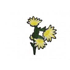 bloem applicatie edelweiss geel