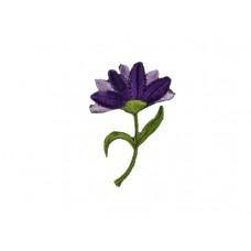 bloem applicatie paars groen
