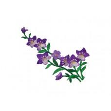 bloem applicatie violen paars