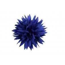 bloem corsage kobalt blauw dahlia