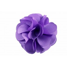 bloem corsage organza lila