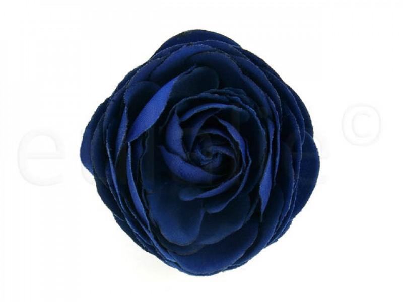 bloem corsage pioenroos blauw