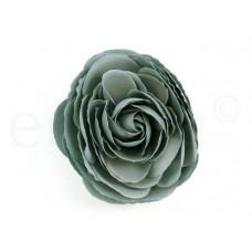 bloem corsage pioenroos grijs